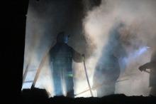 19 zastępów straży pożarnej gasiło pożar w Szymonkowie