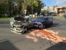 Dwie kobiety trafiły do szpitala po wypadku na Zaodrzu
