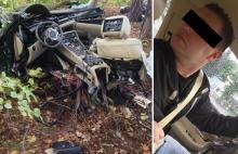Pijany kierowca sprawcą wypadku w Dylakach. Zginął 17-latek.