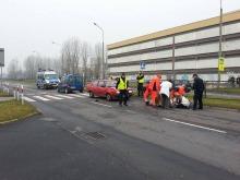 87-letni kierowca potrącił kobietę na przejściu dla pieszych