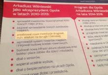 Wiśniewski chwali się budową wiaduktu. Czytelnik: Nie miał z tym nic wspólnego.