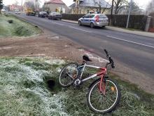 76-letni rowerzysta wjechał wprost pod samochód