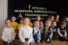 Przedszkolaki wzięły udział w olimpiadzie matematycznej