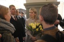 Deszcz zmienił plan wizyty Magdaleny Ogórek w Opolu