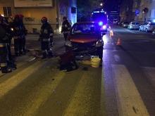 Kobieta została ranna w wypadku na ul. Spychalskiego