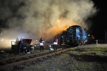 Wypadek, pożar i poszukiwania. Ratownicy ćwiczyli w Jełowej.