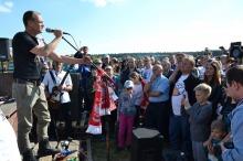 Paweł Kukiz na pikniku w Falmirowicach