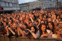 Poprzytula, Mela Koteluk i Happysad na Placu Wolności zgromadziły tłumy