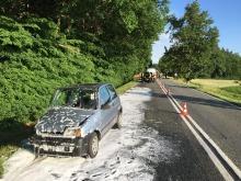 Trzy osoby ranne w wypadku w Skarbiszowie