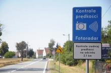 Odcinkowy pomiar prędkości w Łosiowie już działa. Trwają testy.