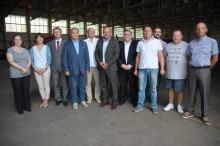 Przedstawiciele LPR wizytowali lotnisko w Polskiej Nowej Wsi