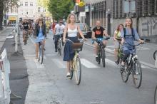 Wyjątkowo liczna Masa Krytyczna na ulicach Opola
