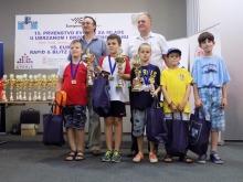 Oskar Ogłaza zdobył 3 medale na szachowych Mistrzostwach Europy