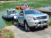 Nowy sprzęt dla policyjnych wodniaków w Turawie