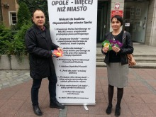 """""""Opole - więcej niż miasto"""" promuje wnioski do budżetu obywatelskiego"""