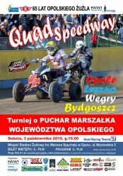 W sobotę pierwszy turniej quad speedway'a w Opolu