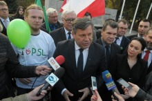 Wicepremier Janusz Piechociński z wizytą w Opolu