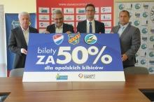 Opolskie kluby sportowe proponują kibicom bilety za pół ceny