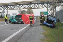 Tragiczny wypadek podczas zawracania na trasie Opole - Krapkowice