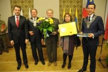 Daniel Olbrychski odebrał tytuł Honorowego Obywatela Miasta Opola