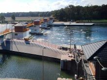 Zakończono modernizację stopnia wodnego w Chróścicach