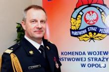 Komendant wojewódzki straży pożarnej odchodzi ze służby