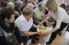 Przedszkolaki pamiętają o swoich babciach i dziadkach