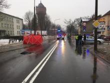 Kobieta zginęła na przejściu dla pieszych w Opolu