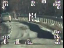 Jechał 115 km/h w terenie zabudowanym, stracił prawo jazdy