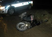 Pijany motorowerzysta zatrzymany w pościgu po kolizji
