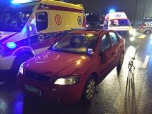 Trzy osoby potrącone na przejściu dla pieszych na ul. Sosnkowskiego