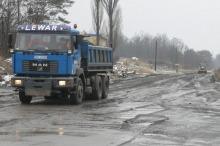Wyrównano drogę dojazdową do firm przy ul. Zbożowej 9