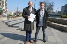Radni PO chcą skweru imienia prof. Bartoszewskiego
