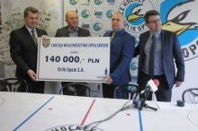Urząd Marszałkowski wsparł hokeistów Orlika Opole
