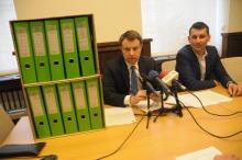 Prezydent Wiśniewski zapowiada poważne kroki prawne wobec starosty