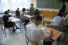 Trwają egzaminy gimnazjalne.