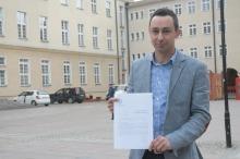 Marcin Gambiec żąda upublicznienia wniosku o powiększenie Opola