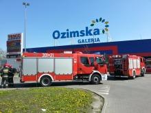 Pożar w Galerii Ozimska, ewakuowano klientów i personel