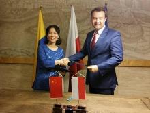 Chińska firma Hongbo zainwestuje w Opolu