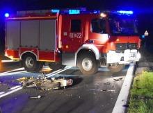 16-letni motocyklista ranny w wypadku na obwodnicy Brzegu
