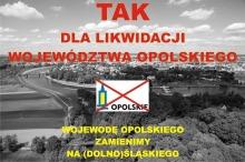 Mieszkańcy Dobrzenia Wielkiego chcą likwidacji województwa opolskiego?