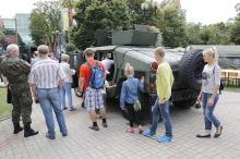 Na Placu Wolności odbył się piknik wojskowy