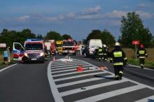 Śmiertelne potrącenie pieszego na drodze krajowej nr 46 za Grabinem