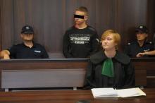 Artur W. przed sądem. 18-latek jest oskarżony o zabójstwo Wiktorii z Krapkowic.