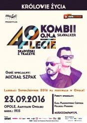 Duet Kombii wystąpi w Opolu z Michałem Szpakiem
