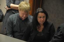 Na sali rozpraw obecni byli rodzice zamordowanej Wiktorii.
