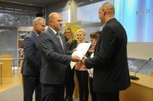 Marszałek województwa uhonorował najlepszych sportowców i działaczy