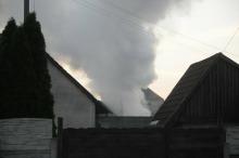 Pożar w Lędzinach. Straty na 60 tys. zł.