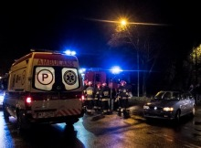 Pijany kierowca volkswagena potrącił rowerzystkę