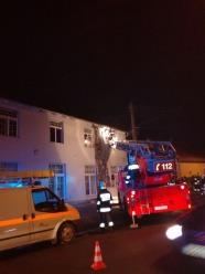 Pożar restauracji w Wawelnie